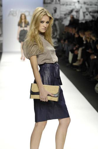 Как носить юбку с высокой талией