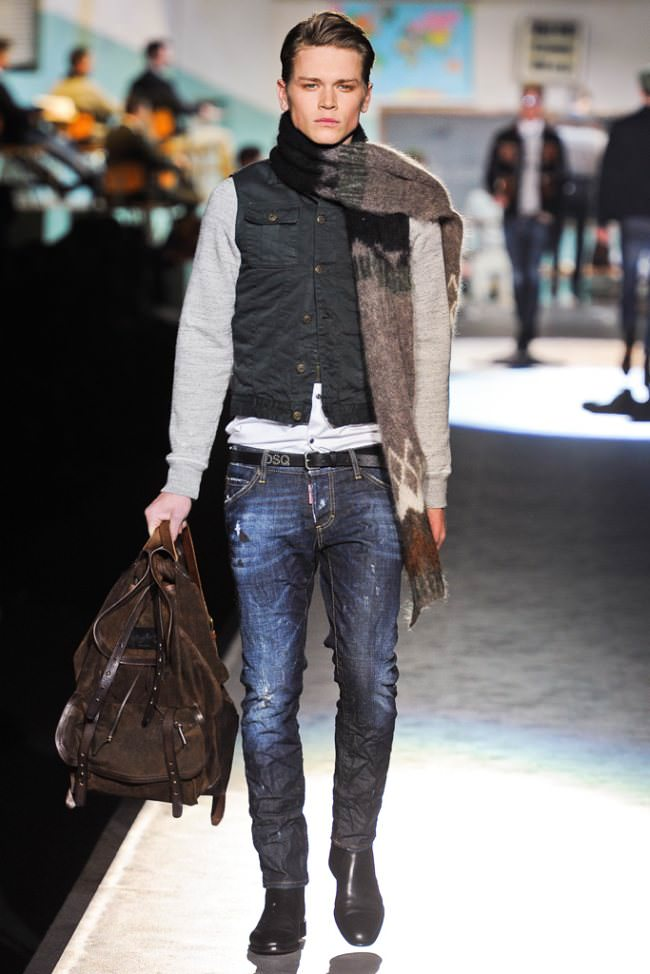 Мужская Мода Джинсы