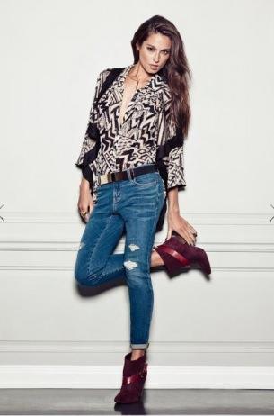 Какие джинсы модно носить 2012 2013