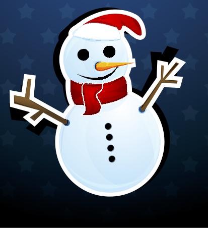Снеговик-New-Year