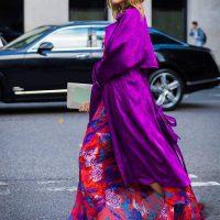Как носить фиолетовый — самый модный цвет этого сезона