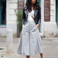 Урок по стилю из Милана: как носить брюки-кюлоты