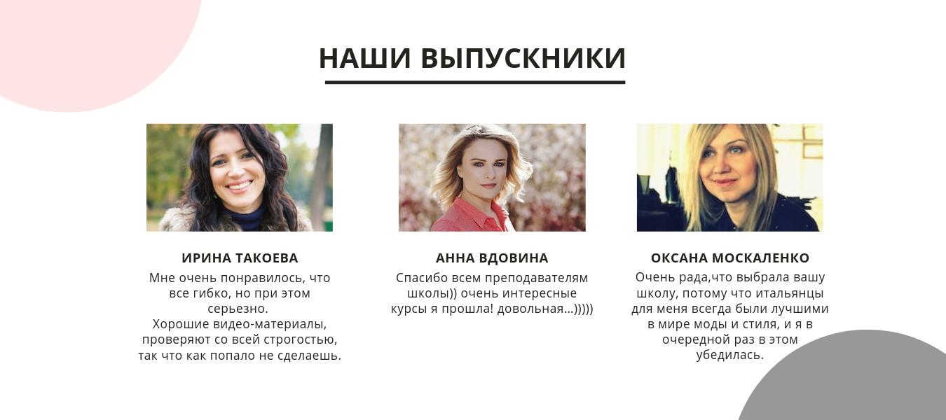 школа моды онлайн