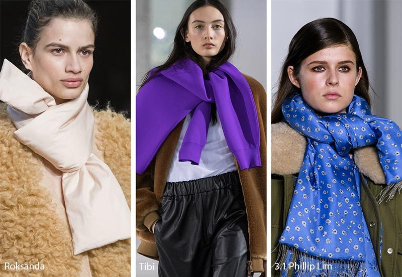 Как носить шарф зимой 2020